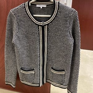 Gerard Darel zip up cardigan